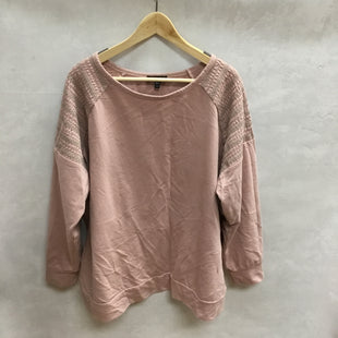 Primary Photo - BRAND: LANE BRYANT STYLE: TOP LONG SLEEVE COLOR: PINK SIZE: 3X SKU: 194-194172-22496