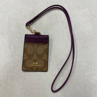 Primary Photo - BRAND: COACH STYLE: LANYARDCOLOR: MONOGRAM SIZE: SMALL SKU: 194-194194-9676