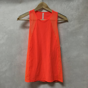 Primary Photo - BRAND: ATHLETA STYLE: ATHLETIC TANK TOP COLOR: ORANGE SIZE: XS SKU: 194-194229-3580