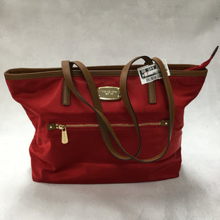 Primary Photo - BRAND: MICHAEL KORS STYLE: HANDBAG DESIGNER COLOR: RED SIZE: MEDIUM OTHER INFO: 17 X 5.5 X 12 INCHESSKU: 194-194220-5464