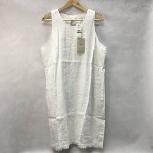 Primary Photo - BRAND: TOMMY BAHAMA STYLE: DRESS SHORT SLEEVELESS COLOR: WHITE SIZE: L OTHER INFO: NEW! SKU: 194-194167-32717