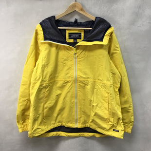 Primary Photo - BRAND: LANDS END STYLE: JACKET OUTDOOR COLOR: YELLOW SIZE: XL SKU: 194-194220-5393