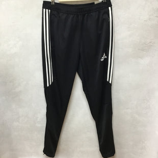 Primary Photo - BRAND: ADIDAS STYLE: ATHLETIC PANTS COLOR: BLACK WHITE SIZE: M OTHER INFO: NEW! SKU: 194-194167-32822