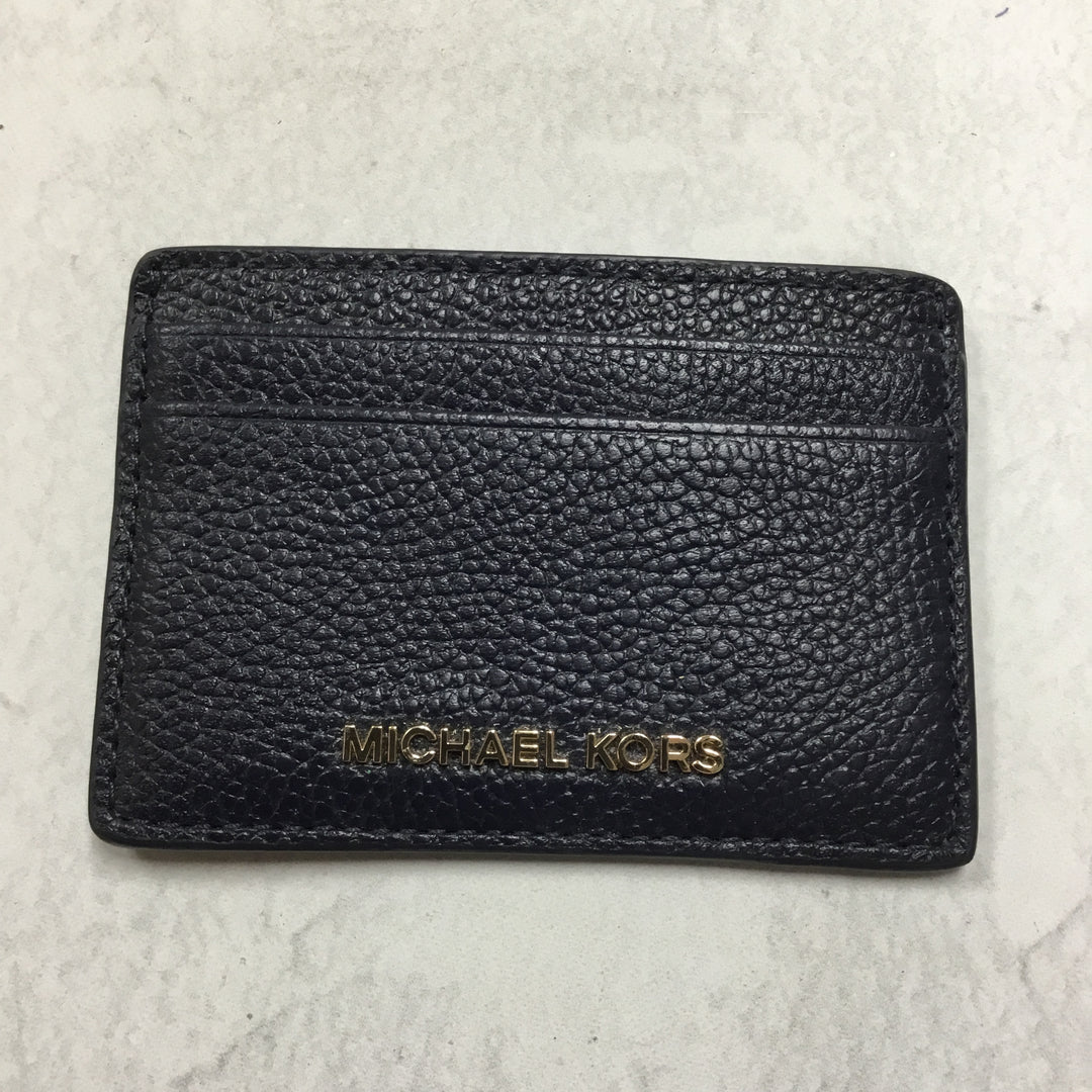 Primary Photo - BRAND: MICHAEL KORS <BR>STYLE: WALLET <BR>COLOR: NAVY <BR>SIZE: SMALL <BR>SKU: 194-194194-8067