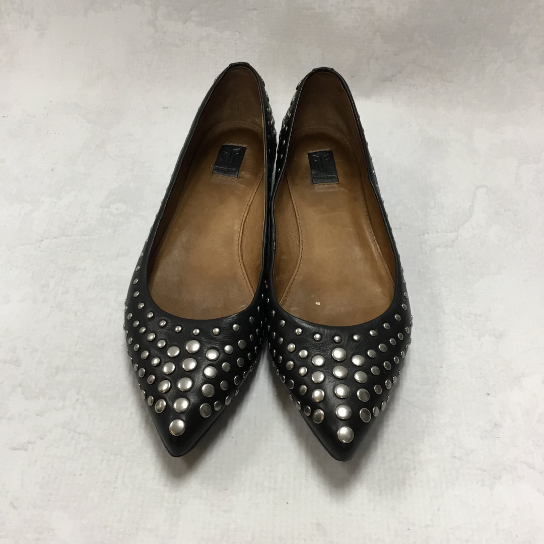 Primary Photo - BRAND: FRYE <BR>STYLE: SHOES FLATS <BR>COLOR: BLACK <BR>SIZE: 6.5 <BR>SKU: 194-194220-4289R