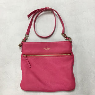 Primary Photo - BRAND: KATE SPADE STYLE: HANDBAG DESIGNER COLOR: HOT PINK SIZE: SMALL SKU: 194-194167-29588