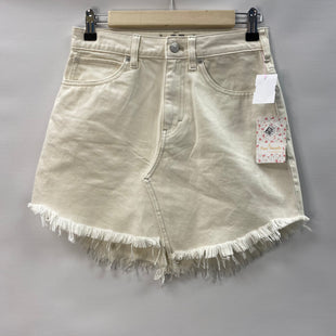 Primary Photo - BRAND: WE THE FREE STYLE: SKIRT COLOR: CREAM SIZE: 2 OTHER INFO: NWT SKU: 194-194220-7085