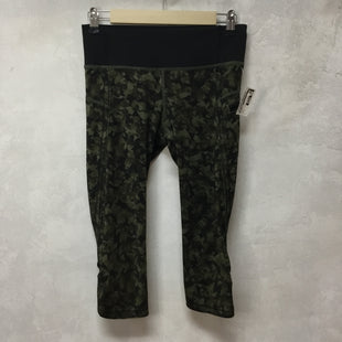 Primary Photo - BRAND: LULULEMON STYLE: ATHLETIC CAPRIS COLOR: GREEN SIZE: 4 SKU: 194-194234-903