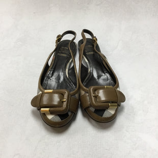 Primary Photo - BRAND: BURBERRY STYLE: SHOES FLATS COLOR: BURBERRY PLAID SIZE: 5 OTHER INFO: AS IS SKU: 194-194194-6793