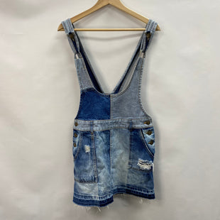 Primary Photo - BRAND: FREE PEOPLE STYLE: DRESS SHORT SLEEVELESS COLOR: DENIM SIZE: S SKU: 194-194167-34945