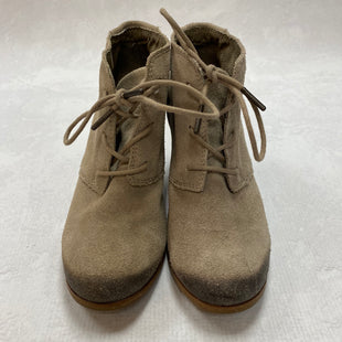 Primary Photo - BRAND: TOMS STYLE: SHOES HIGH HEEL COLOR: TAUPE SIZE: 6.5 SKU: 194-194194-4618