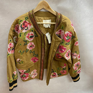 Primary Photo - BRAND: ANTHROPOLOGIE STYLE: BLAZER JACKET COLOR: TAN SIZE: L OTHER INFO: NEW! $160 SKU: 194-194172-22685