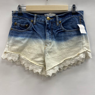 Primary Photo - BRAND: FREE PEOPLE STYLE: SHORTS COLOR: DENIM SIZE: 4 SKU: 194-194172-22661