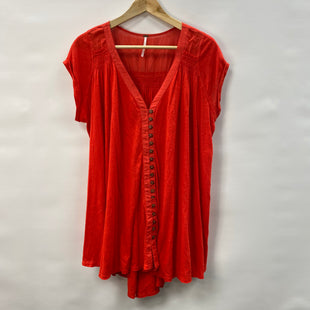 Primary Photo - BRAND: FREE PEOPLE STYLE: DRESS SHORT SHORT SLEEVE COLOR: RED SIZE: S SKU: 194-19414-39954