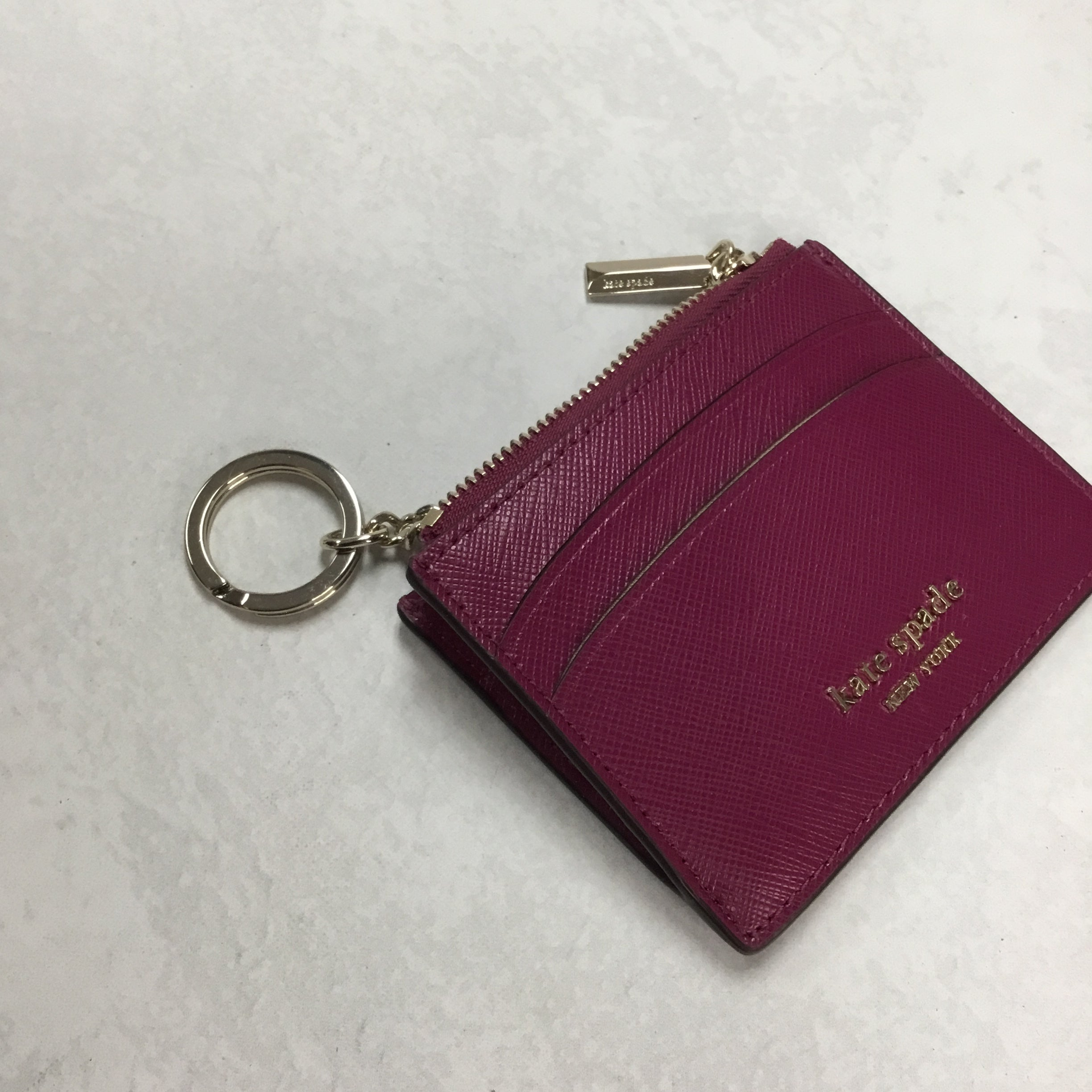 Photo #3 - BRAND: KATE SPADE <BR>STYLE: WALLET <BR>COLOR: RASPBERRY <BR>SIZE: SMALL  <BR>SKU: 194-194229-2749