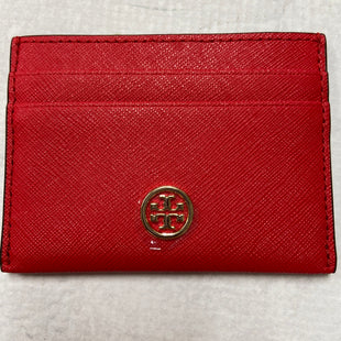 Primary Photo - BRAND: TORY BURCH STYLE: WALLET COLOR: RED SIZE: SMALL SKU: 194-19414-36687