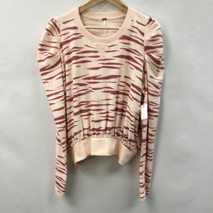 Primary Photo - BRAND: FREE PEOPLE STYLE: TOP LONG SLEEVE COLOR: ANIMAL PRINT SIZE: L SKU: 194-194238-584