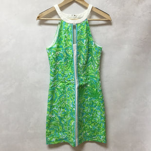 Primary Photo - BRAND: LILLY PULITZER STYLE: DRESS SHORT SLEEVELESS COLOR: GREEN SIZE: 2 SKU: 194-194229-4353