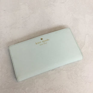 Primary Photo - BRAND: KATE SPADE STYLE: WALLET COLOR: BABY BLUE SIZE: MEDIUM OTHER INFO: AS IS SKU: 194-194230-2288