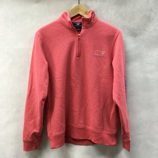 Primary Photo - BRAND: VINEYARD VINES STYLE: TOP LONG SLEEVE COLOR: SALMON SIZE: XS OTHER INFO: 1/4  ZIP SKU: 194-194225-1767
