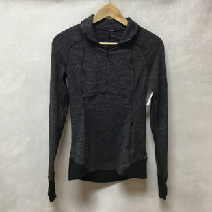 Primary Photo - BRAND: LULULEMON STYLE: ATHLETIC TOP COLOR: CHARCOAL SIZE: 4 SKU: 194-194229-3583