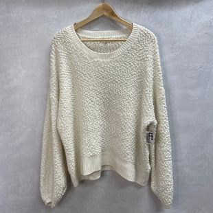 Primary Photo - BRAND:    LOVE + JOYSTYLE: SWEATER LIGHTWEIGHT COLOR: CREAM SIZE: 2X SKU: 194-19414-37562