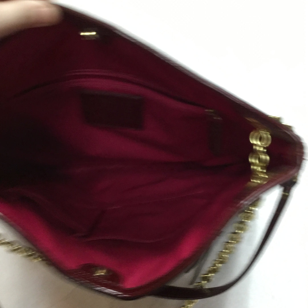 Photo #4 - BRAND: COACH <BR>STYLE: HANDBAG DESIGNER <BR>COLOR: RED <BR>SIZE: LARGE <BR>OTHER INFO: POPPY PATENT LEATHER TOTE <BR>SKU: 194-194183-21184