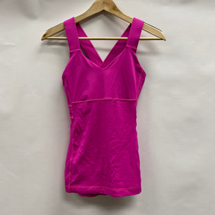 Primary Photo - BRAND: LULULEMON STYLE: ATHLETIC TANK TOP COLOR: HOT PINK SIZE: 6 SKU: 194-194183-24824
