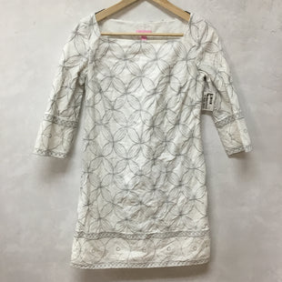 Primary Photo - BRAND: LILLY PULITZER STYLE: DRESS SHORT LONG SLEEVE COLOR: WHITE SIZE: XS SKU: 194-194167-32907