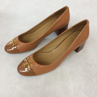 Primary Photo - BRAND: TORY BURCH STYLE: SHOES LOW HEEL COLOR: TAN SIZE: 12 OTHER INFO: GREAT CONDITION ! SKU: 194-194197-14009