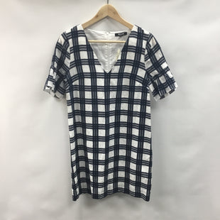 Primary Photo - BRAND: MADEWELL STYLE: DRESS SHORT SHORT SLEEVE COLOR: PLAID SIZE: XXS OTHER INFO: BOXY SKU: 194-19414-39634