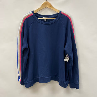 Primary Photo - BRAND: TIME AND TRU STYLE: TOP LONG SLEEVE COLOR: BLUE SIZE: 3X SKU: 194-194237-626