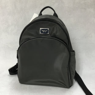 Primary Photo - BRAND: MICHAEL KORS STYLE: BACKPACK COLOR: GREY SIZE: MEDIUM SKU: 194-19416-784611.5X13.5X4.5AS IS. SMALL STAIN ON FRONT.
