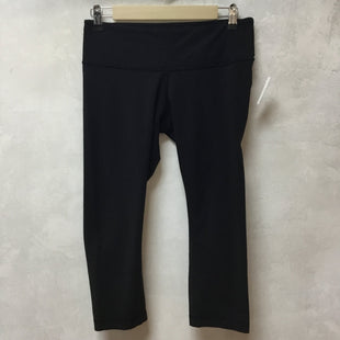 Primary Photo - BRAND: LULULEMON STYLE: ATHLETIC CAPRIS COLOR: BLACK SIZE: 8 SKU: 194-194238-18