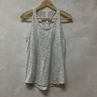 Primary Photo - BRAND: LULULEMON STYLE: ATHLETIC TANK TOP COLOR: WHITE SIZE: 4 SKU: 194-194194-8961