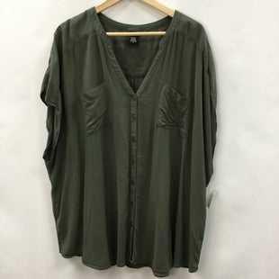 Primary Photo - BRAND: TORRID STYLE: TOP SHORT SLEEVE COLOR: GREEN SIZE: 4X SKU: 194-194220-6771