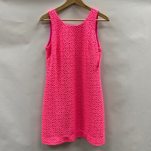 Primary Photo - BRAND: LILLY PULITZER STYLE: DRESS SHORT SLEEVELESS COLOR: HOT PINK SIZE: S SKU: 194-19414-40707