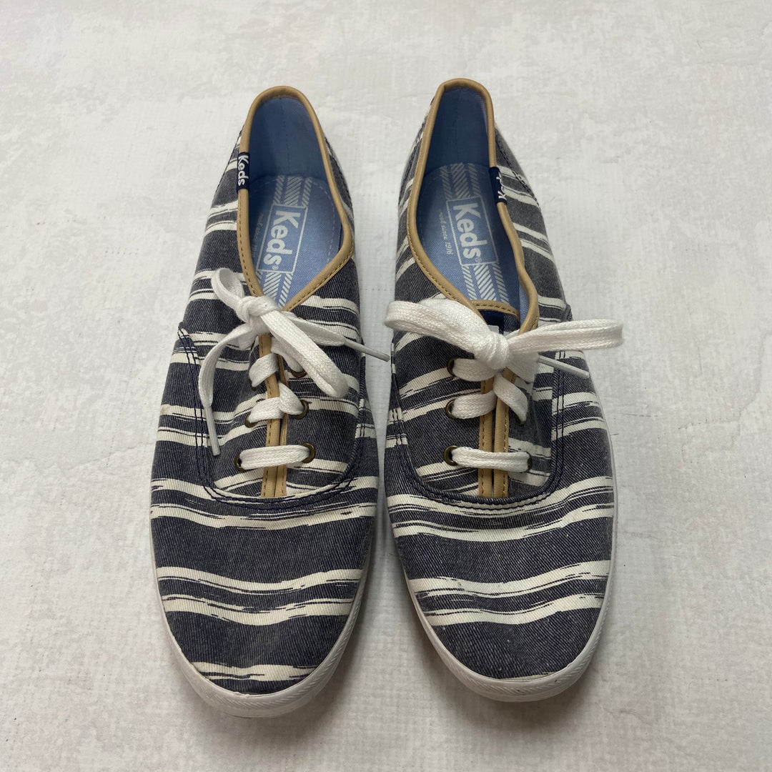 Primary Photo - BRAND: KEDS <BR>STYLE: SHOES FLATS <BR>COLOR: STRIPED <BR>SIZE: 8.5 <BR>SKU: 194-194220-3569