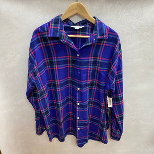 Primary Photo - BRAND: OLD NAVY STYLE: TOP LONG SLEEVE COLOR: PLAID SIZE: XL OTHER INFO: NEW! SKU: 194-19414-36209