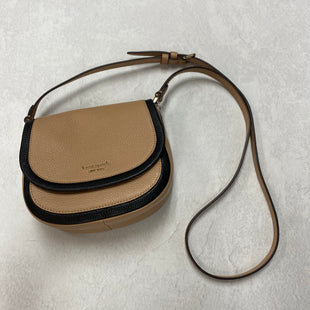 Primary Photo - BRAND: KATE SPADE STYLE: HANDBAG DESIGNER COLOR: BROWN SIZE: SMALL OTHER INFO: ROULETTE SMALL SADDLE BAG 7.5 X 3 X 7 INCHESSKU: 194-19414-40222
