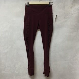 Primary Photo - BRAND: FABLETICS STYLE: ATHLETIC PANTS COLOR: MAROON SIZE: S SKU: 194-194183-23848