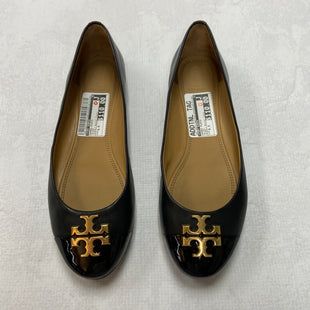 Primary Photo - BRAND: TORY BURCH STYLE: SHOES FLATS COLOR: BLACK SIZE: 8.5 OTHER INFO: EVERLY BALLET FLATS SKU: 194-19414-36473