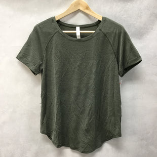 Primary Photo - BRAND: LULULEMON STYLE: ATHLETIC TOP SHORT SLEEVE COLOR: GREEN SIZE: 6 SKU: 194-194231-1509
