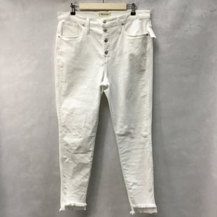 Primary Photo - BRAND: MADEWELL STYLE: PANTS COLOR: WHITE SIZE: 12 SKU: 194-194194-8251
