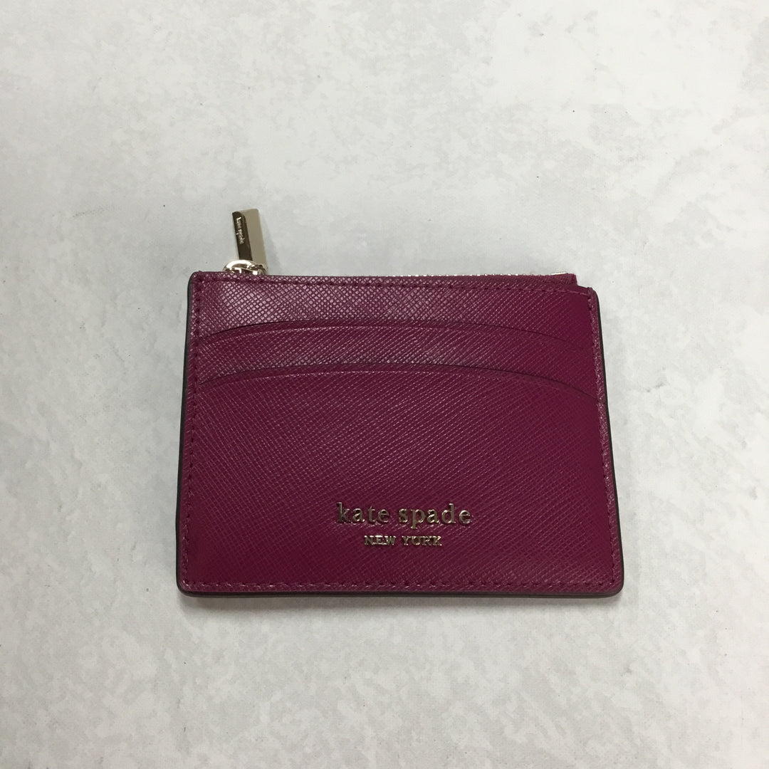 Primary Photo - BRAND: KATE SPADE <BR>STYLE: WALLET <BR>COLOR: RASPBERRY <BR>SIZE: SMALL  <BR>SKU: 194-194229-2749