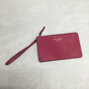 Primary Photo - BRAND: KATE SPADE STYLE: WRISTLET COLOR: PINK SIZE: S OTHER INFO: AS IS SKU: 194-194220-2134