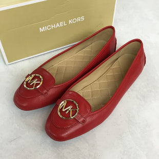 Primary Photo - BRAND: MICHAEL KORS STYLE: SHOES FLATS COLOR: RED SIZE: 12 SKU: 194-194220-6277