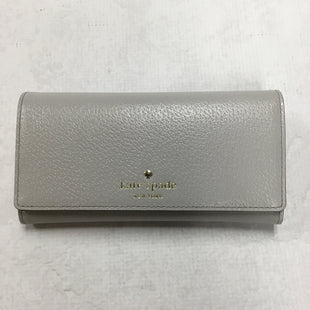 Primary Photo - BRAND: KATE SPADE STYLE: WALLET COLOR: GREY SIZE: MEDIUM SKU: 194-194194-6712