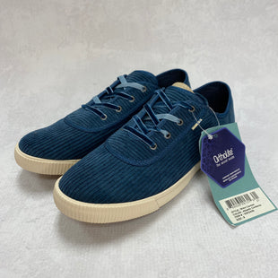 Primary Photo - BRAND: TOMS STYLE: SHOES FLATS COLOR: BLUE SIZE: 8 OTHER INFO: NEW! SKU: 194-194183-23984