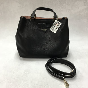 Primary Photo - BRAND: KATE SPADE STYLE: HANDBAG DESIGNER COLOR: BLACK SIZE: SMALL OTHER INFO: 11 X 4.5 X 8.5 INCHESSKU: 194-194194-6631